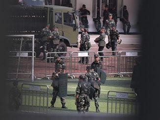 中共攻台, 反送中, 香港