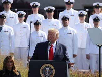 President Trump Attends 9/11 Observance Ceremony At The Pentagon