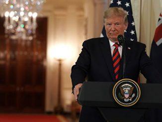 President Trump Welcomes Australian Prime Minister Scott Morrison To The Washington On State Visit