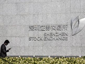 Views Of Shenzhen Stock Exchange As Asian Shares Come Back Down To Earth