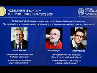 2019年诺贝尔物理学奖