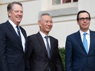 美中谈判, 贸易谈判, 中美贸易战, 刘鹤