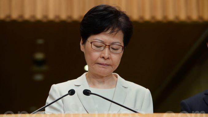 林郑月娥, 香港特首, 民调, 民意