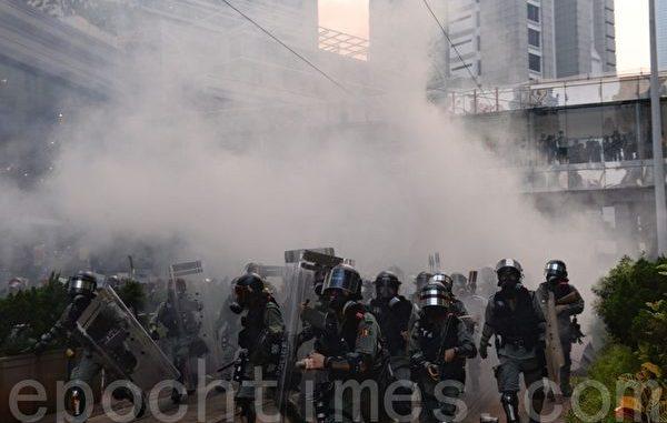 香港, 反送中, 铜锣湾, 催泪弹