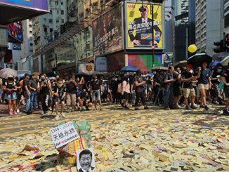 香港, 中共国殇日, 游行, 反送中