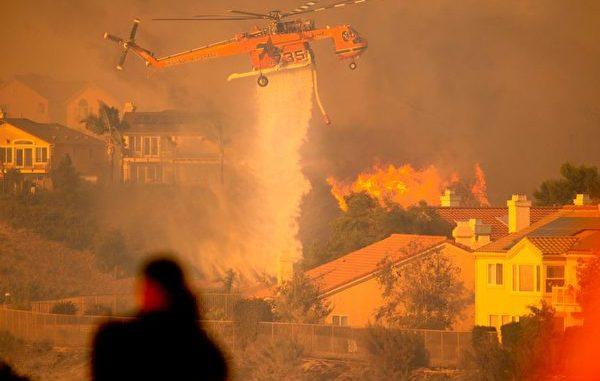 薩德爾里奇大火, Saddleridge, 檀木火災, 加州, 停電