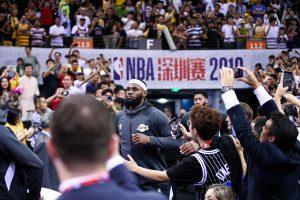 NBA, 深圳赛, 饭圈女孩