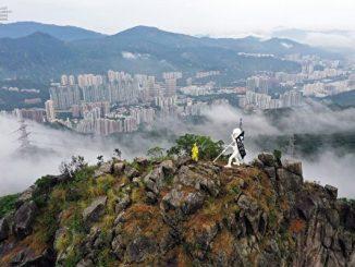 香港自由民主女神像, 狮子山, 反送中