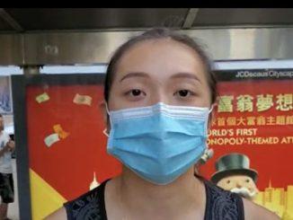 禁蒙面法, 香港学生, 林郑月娥, 香港教育