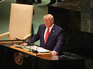 特朗普, 演讲, 联合国, 74届