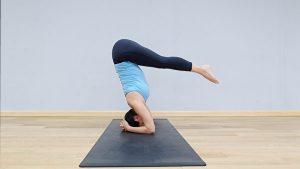 倒立 瑜珈