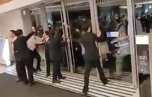 香港, 商场, 防暴警察, 港暴