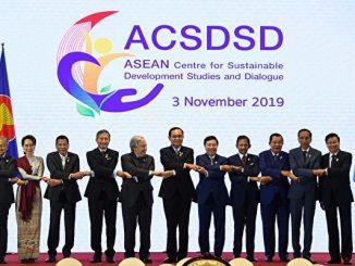 东盟峰会, 新加坡东盟峰会, 特朗普, RCEP, 南海