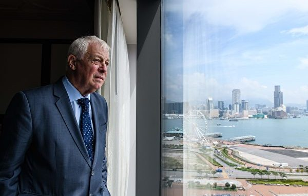 反送中, 彭定康, 中英联合声明, 参议员霍利, 香港人权与民主法案
