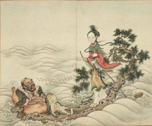 宋宝蓝, 梦, 预言, 何仙姑, 观音菩萨
