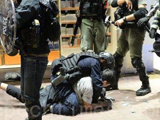 镇压, 香港警察暴力, 中共特警