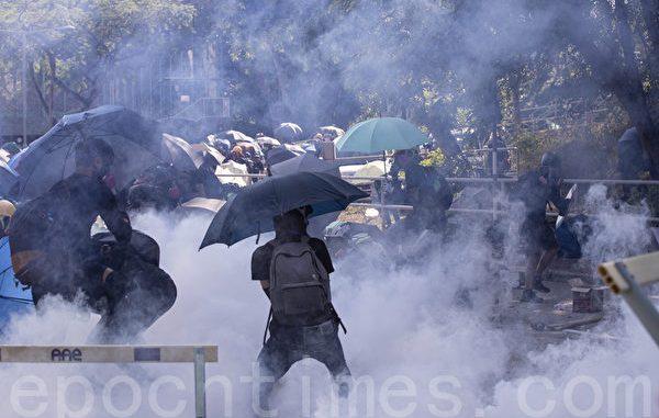 香港抗议, 香港民调, 记者协会