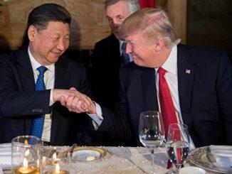 川习会, 美中贸易, 签约, 贸易协议, 签署协议