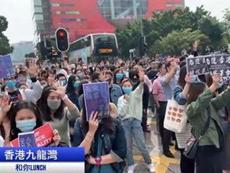 反送中, 香港, 抗议者, 学生, 区议会选举