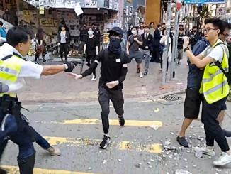 港警, 开枪, 西湾河, 香港