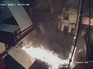 香港, 大纪元, 印刷厂, 中共, 纵火