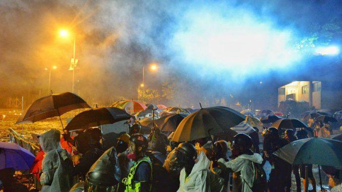 香港理工大学, 香港理大, 香港抗议