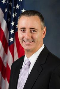 美国共和党籍众议员布莱恩·菲茨帕特里克(Brian Fitzpatrick)