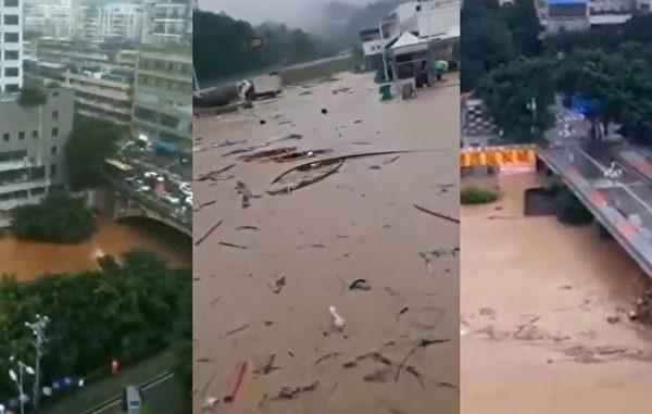 多达26省遭遇洪水侵袭