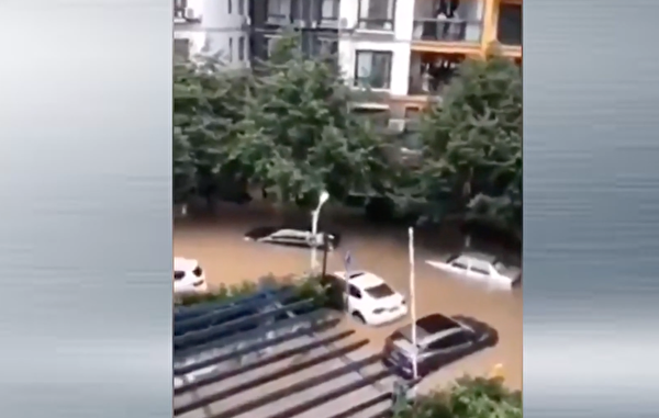 湖北宜昌市暴雨