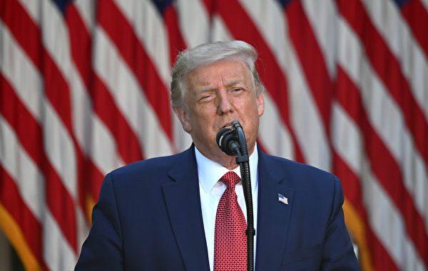 美国总统川普(特朗普)7月14日下午5点半在白宫玫瑰园举行跟中国相关的主题新闻会。