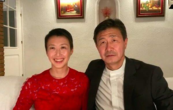 郝海东和妻子叶钊颖