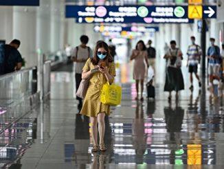 图为7月14日武汉机场,示意图