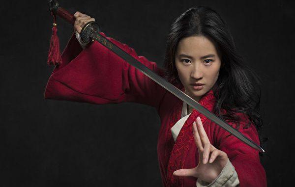 刘亦菲主演的《花木兰》真人电影日前遭影迷抵制。
