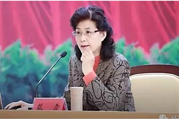 图为中共中央党校前教授蔡霞。